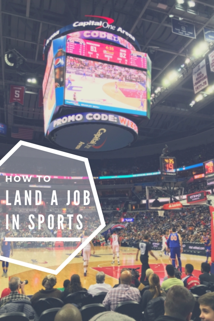 Landing a Job in the Sports Industry